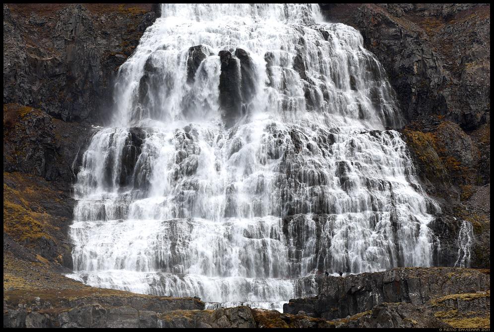 Island, Iceland, Võimas kosk, Impressive waterfall, Dynjandi, kosk, Fjallfoss