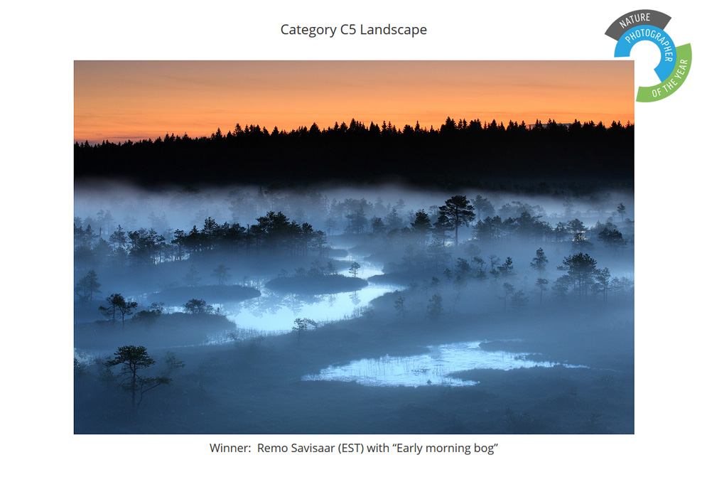 Nature Photographer of the Year 2017, contest Winner auhind auhinnatud Remo Savisaar Eesti loodus  Estonian Estonia Baltic nature wildlife photography photo blog loodusfotod loodusfoto looduspilt looduspildid