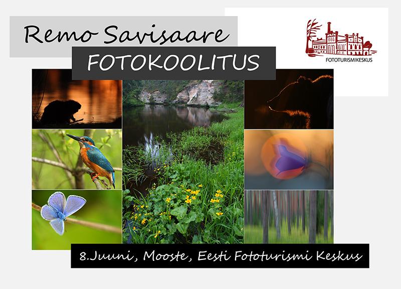 Fotokoolitus, 8.juuni, Mooste, Eesti Fototurismi Keskus
