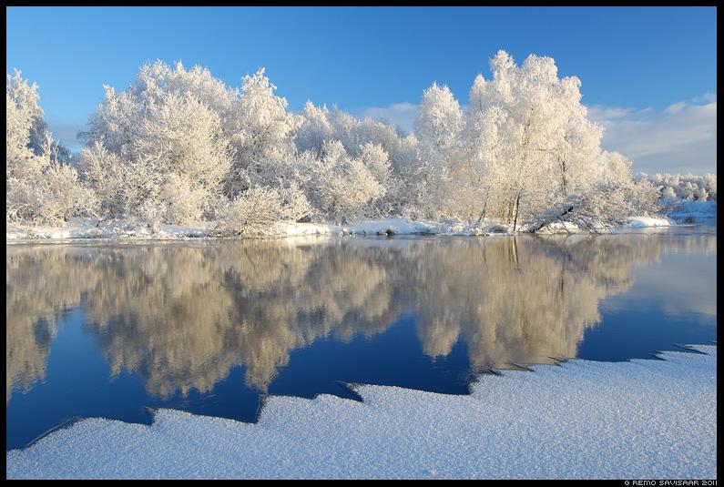 Härmarüüs, Frosty, talv, jõgi, vesi, emajõgi, härmas, härmatis, frost, frosty, lumi, jää, jaanuar