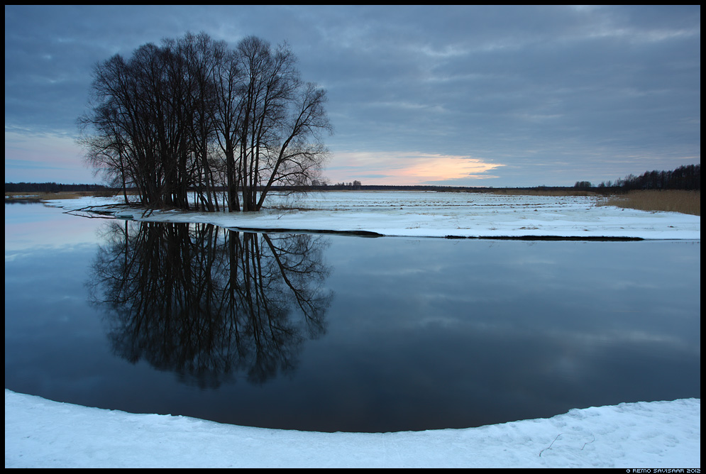 Emajõgi, Mother River, talv, winter, õhtu, evening, vaikus, silence, Remo Savisaar Eesti loodus Estonian Estonia Baltic nature wildlife photography photo blog loodusfotod loodusfoto looduspilt looduspildid
