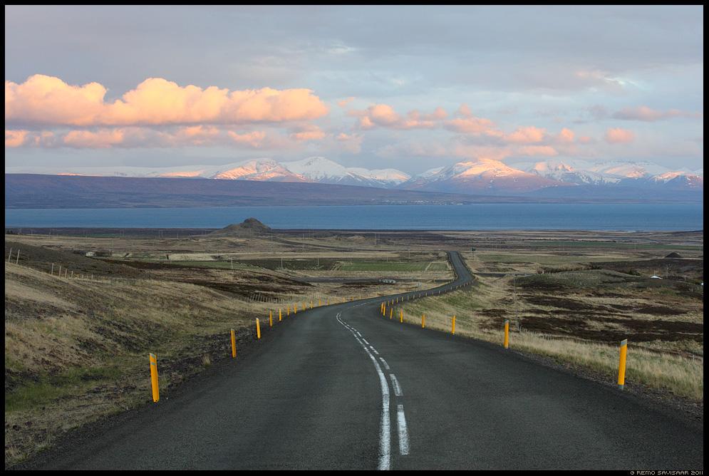 Island, Iceland, tee, road, mäed, mountains, sõidutee