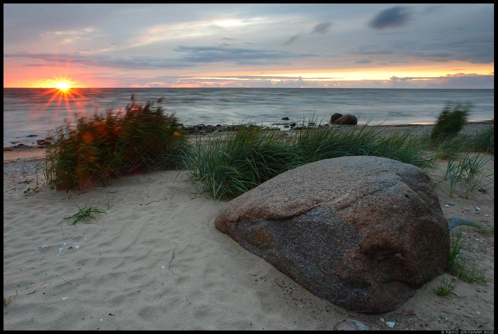Viimased kiired, Last sunrays, läänemeri, baltic sea, rannik, coast, rand, beach, kabli, pärnumaa, päikeseloojang, sunset