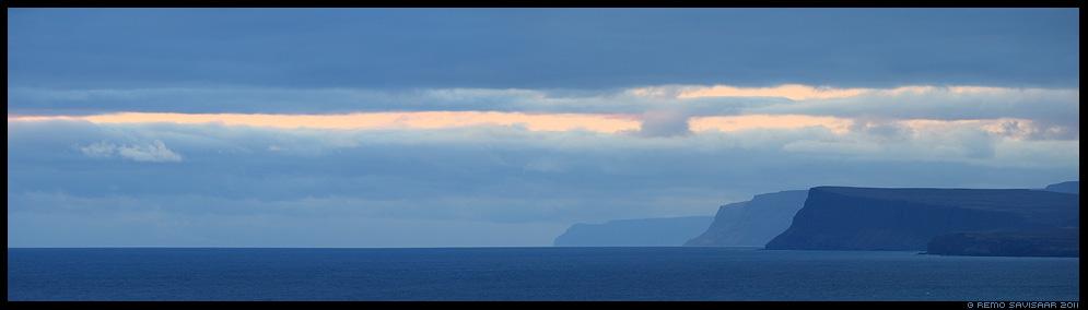 Island, Iceland, Kihid, Layers, Látrabjarg Peninsula, kalju, kaljud