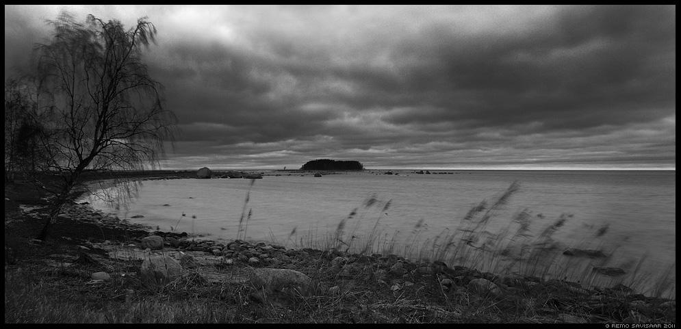 Kuradisaar, Devil's island, Pime aeg, Dark time, lahemaa, meri, sea, läänemeri, pime, hämar, torm, tormine, stormy, käsmu