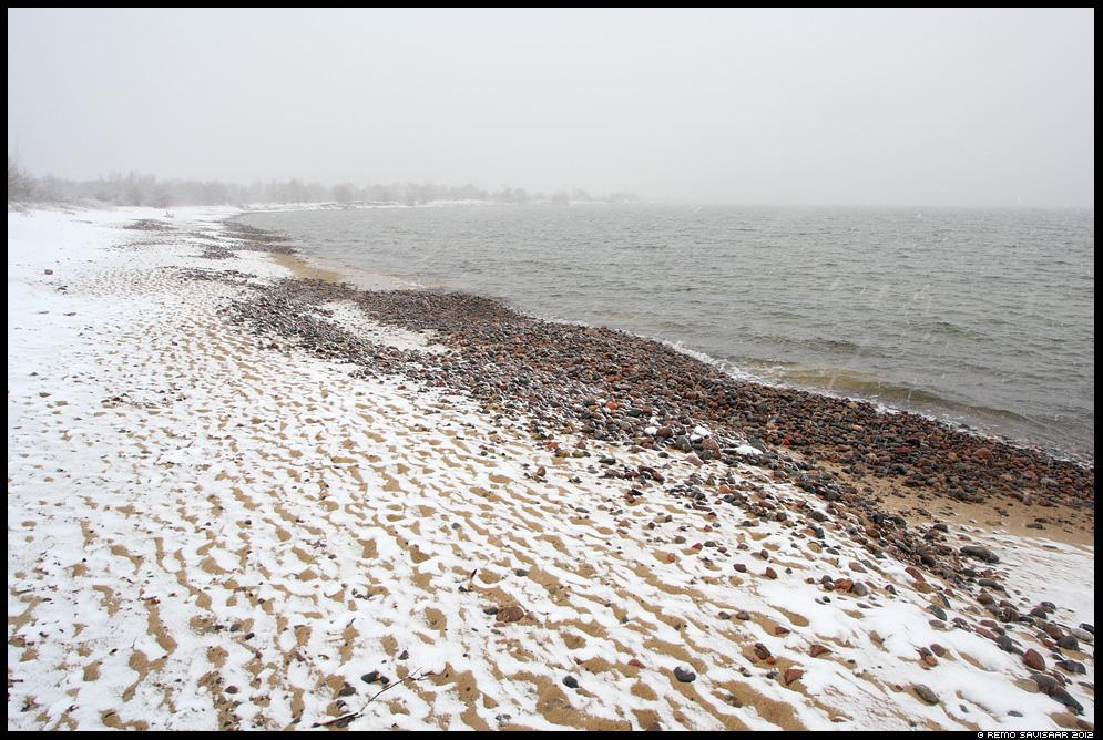 aprill, läänemeri, meri, sea, baltic sea, spring, kevad, lumesadu, rand, beach, rannik, varakevad, early spring