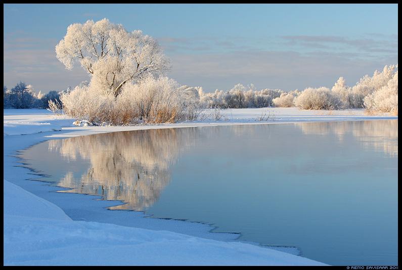 Härmarüüs, Frosty, talv, jõgi, vesi, emajõgi, härmas, härmatis, frost, frosty, lumi, jää