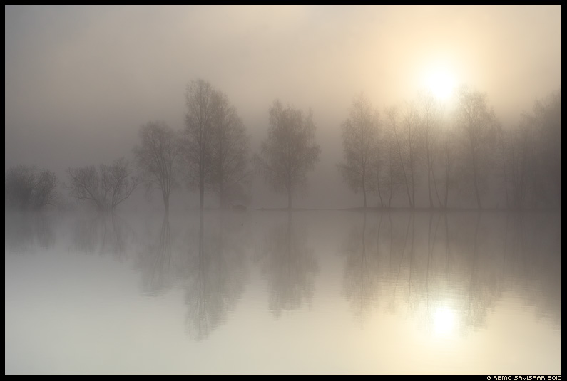 Udune hommik, Foggy morning
