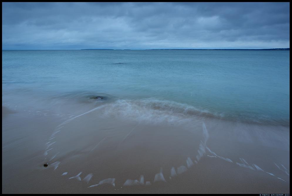 Pime aeg, Dark time, meri, sea, läänemeri, pime, hämar, ring, merevaht