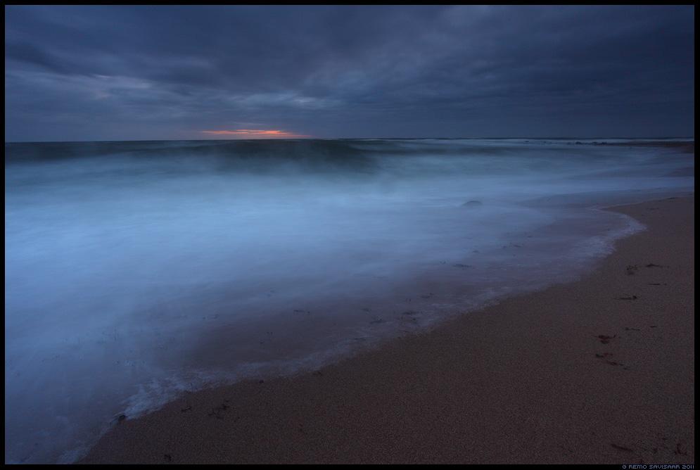 Pime aeg, Dark time, meri, sea, läänemeri, pime, hämar, torm, tormine, stormy