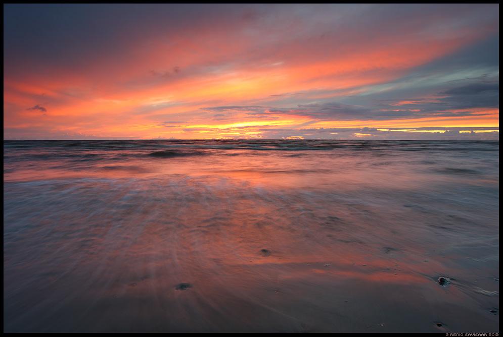 Läänemeri, baltic sea, pärnumaa, kabli, Värvikas loojang, Colorful sunset, päikeseloojang, sunset,värvidemäng