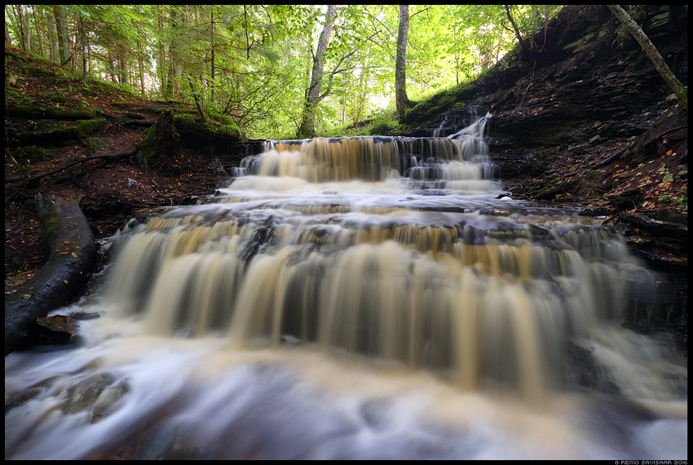 Vasaristi joastik, Vasaristi cascade waterfall juga vesi lahemaa rahvuspark Remo Savisaar Eesti loodus Estonian Estonia Baltic nature wildlife photography photo blog loodusfotod loodusfoto looduspilt looduspildid